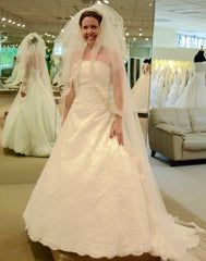 Demetrios 'Rich Eternity' - Demetrios - Nearly Newlywed Bridal Boutique - 3