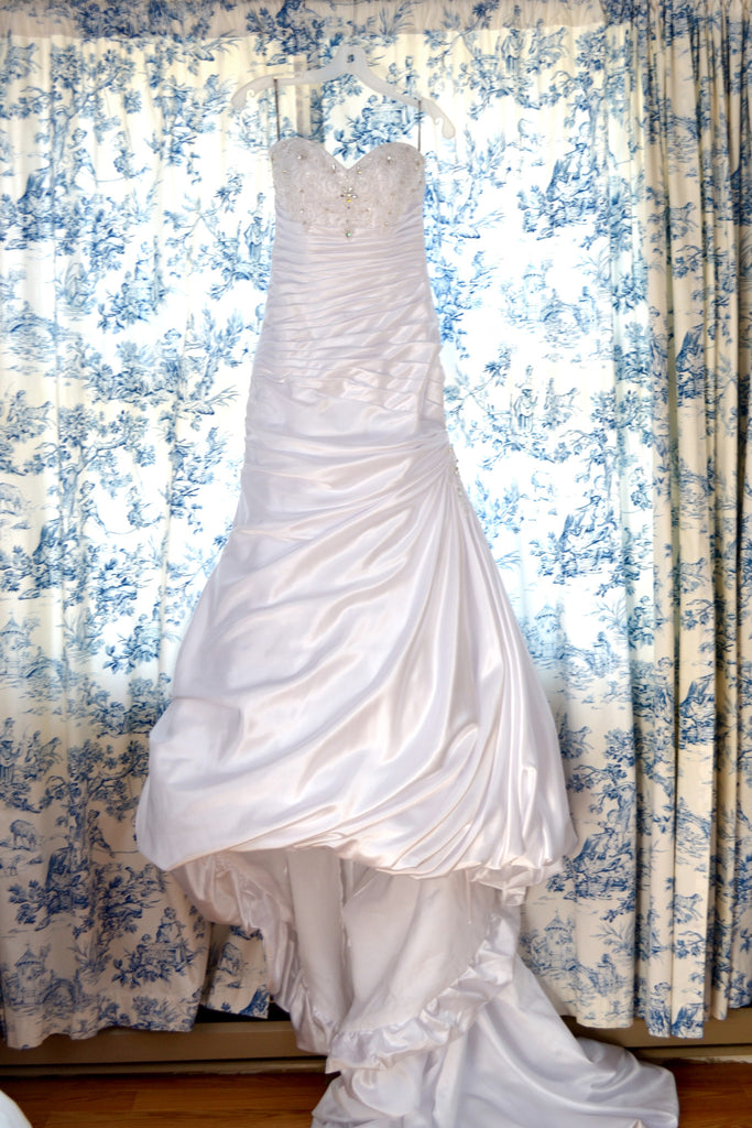 Maggie Sottero 'Adeline Marie' size 6 used wedding dress