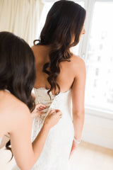 Pnina Tornai 'Sweetheart Mermaid' - Pnina Tornai - Nearly Newlywed Bridal Boutique - 2