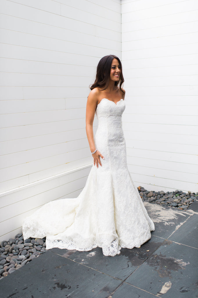 Pnina Tornai 'Sweetheart Mermaid' - Pnina Tornai - Nearly Newlywed Bridal Boutique - 4