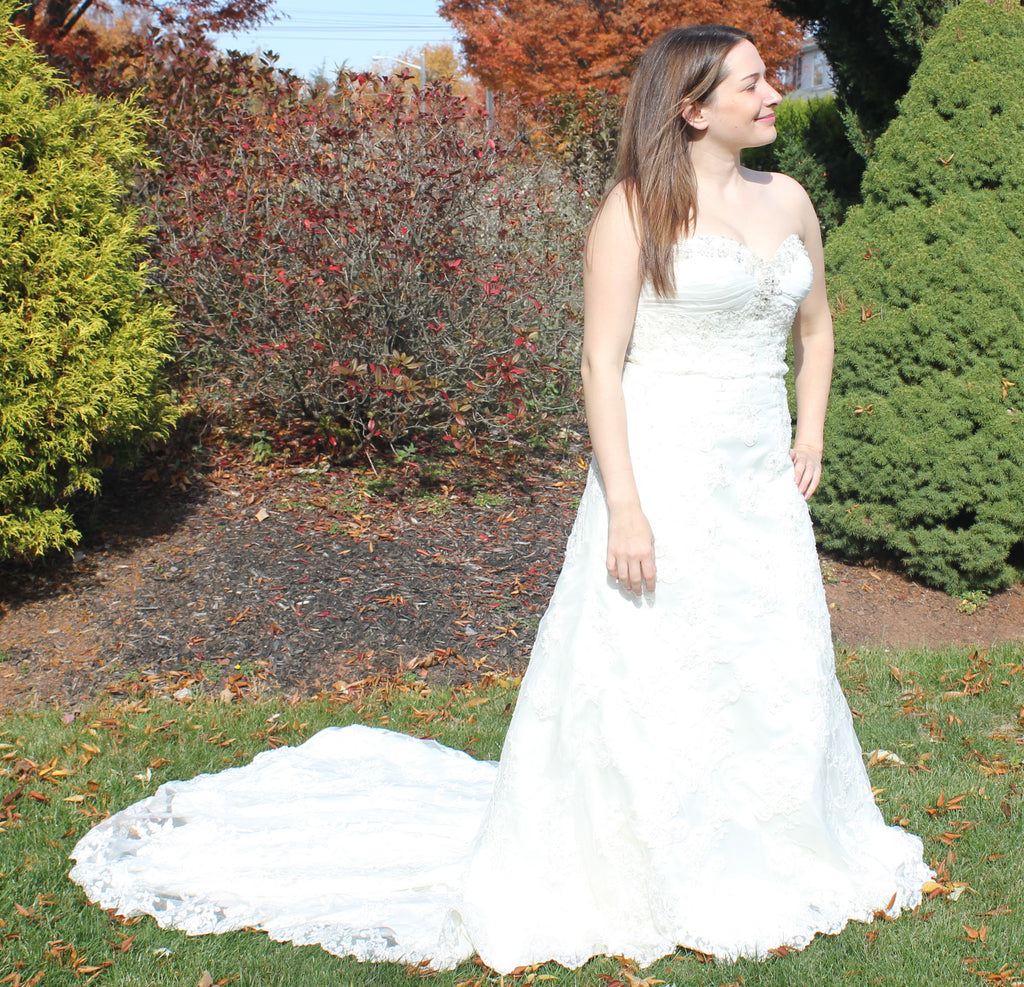 David's Bridal 'LV64' - David's Bridal - Nearly Newlywed Bridal Boutique - 1