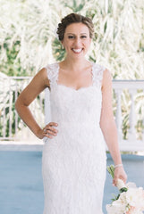 Monique Lhuillier 'Charmaine' - Monique Lhuillier - Nearly Newlywed Bridal Boutique - 4