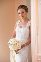 Monique Lhuillier 'Charmaine' - Monique Lhuillier - Nearly Newlywed Bridal Boutique - 6