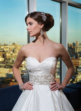 Load image into Gallery viewer, Justin Alexander 'Classic Ballgown' - JUSTIN ALEXANDER - Nearly Newlywed Bridal Boutique - 1