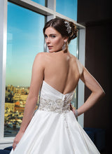 Load image into Gallery viewer, Justin Alexander 'Classic Ballgown' - JUSTIN ALEXANDER - Nearly Newlywed Bridal Boutique - 2