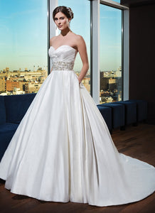 Justin Alexander 'Classic Ballgown' - JUSTIN ALEXANDER - Nearly Newlywed Bridal Boutique - 3