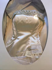 Maggie Sottero 'MS-R1117' size 4 used wedding dress view in box