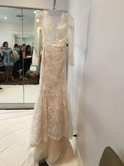 Ines Di Santo 'Madrid' size 2 used wedding dress front view on hanger