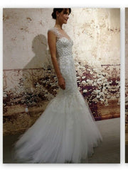 Monique Lhuillier 'Adele' - Monique Lhuillier - Nearly Newlywed Bridal Boutique - 3