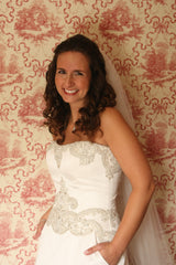Priscilla of Boston 'Platinum Collection PL 263' - Priscilla of Boston - Nearly Newlywed Bridal Boutique - 4