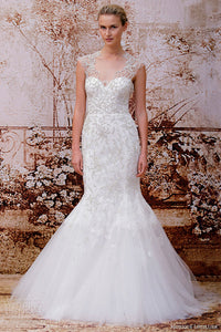 Monique Lhuillier 'Adele' - Monique Lhuillier - Nearly Newlywed Bridal Boutique - 2