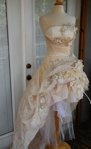 Custom 'Victorian' - Custom made - Nearly Newlywed Bridal Boutique - 3