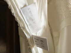 Allure '2803' size 10 new wedding dress view of tag