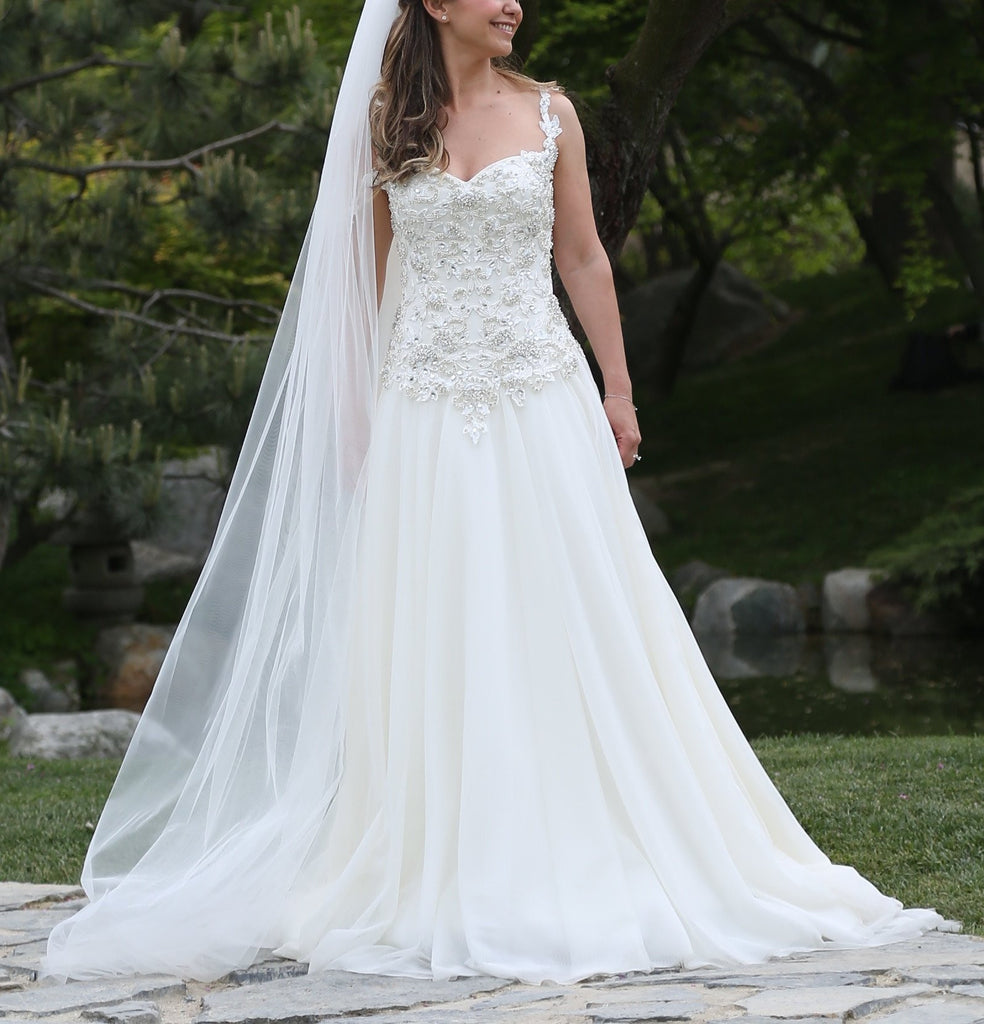 romantic bohemian wedding dress (romance queen)