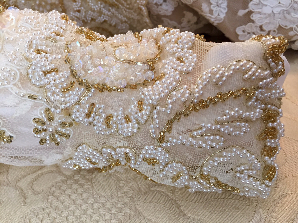 Custom 'Georgette of Boston' - Custom made - Nearly Newlywed Bridal Boutique - 8