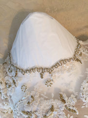 Custom 'Georgette of Boston' - Custom made - Nearly Newlywed Bridal Boutique - 10