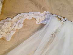 Custom 'Georgette of Boston' - Custom made - Nearly Newlywed Bridal Boutique - 9