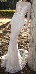 Berta '16-09' size 8 new wedding dress front view on model