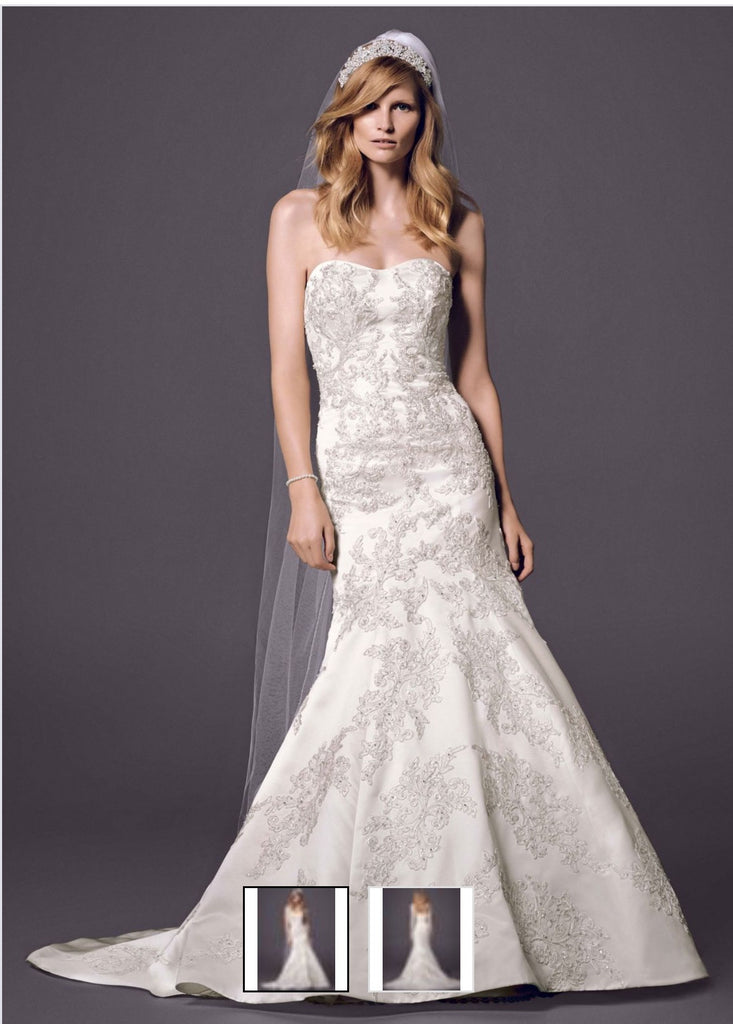 Oleg Cassini 'Strapless' - Oleg Cassini - Nearly Newlywed Bridal Boutique - 1