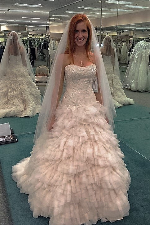 Galina 'princess Ballgown' - Galina - Nearly Newlywed Bridal Boutique - 1