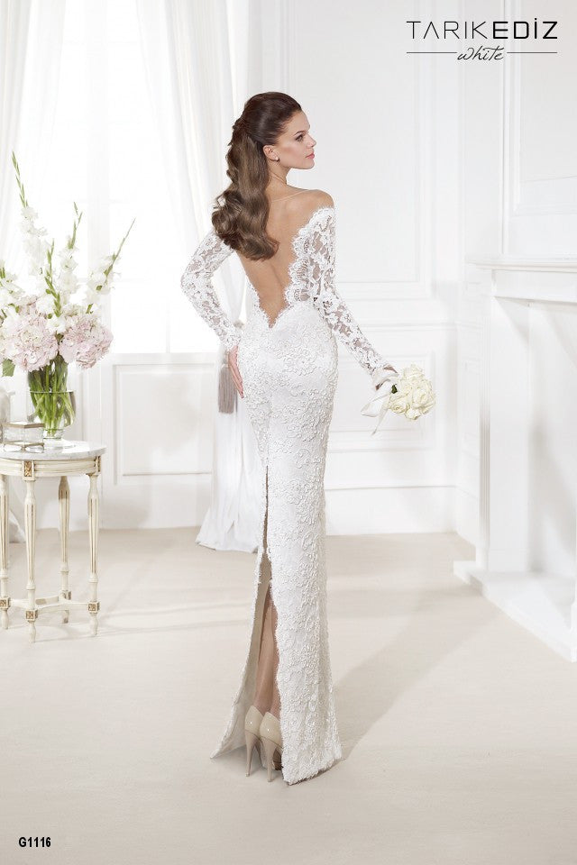 Tarik Ediz 'G1116' - Tarik Ediz - Nearly Newlywed Bridal Boutique