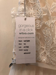 BHLDN 'Cassia' size 10 new wedding dress view of tag