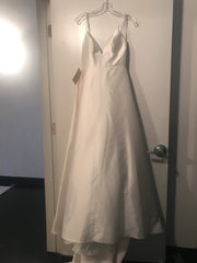 BHLDN 'Opaline' size 4 new wedding dress front view on hanger