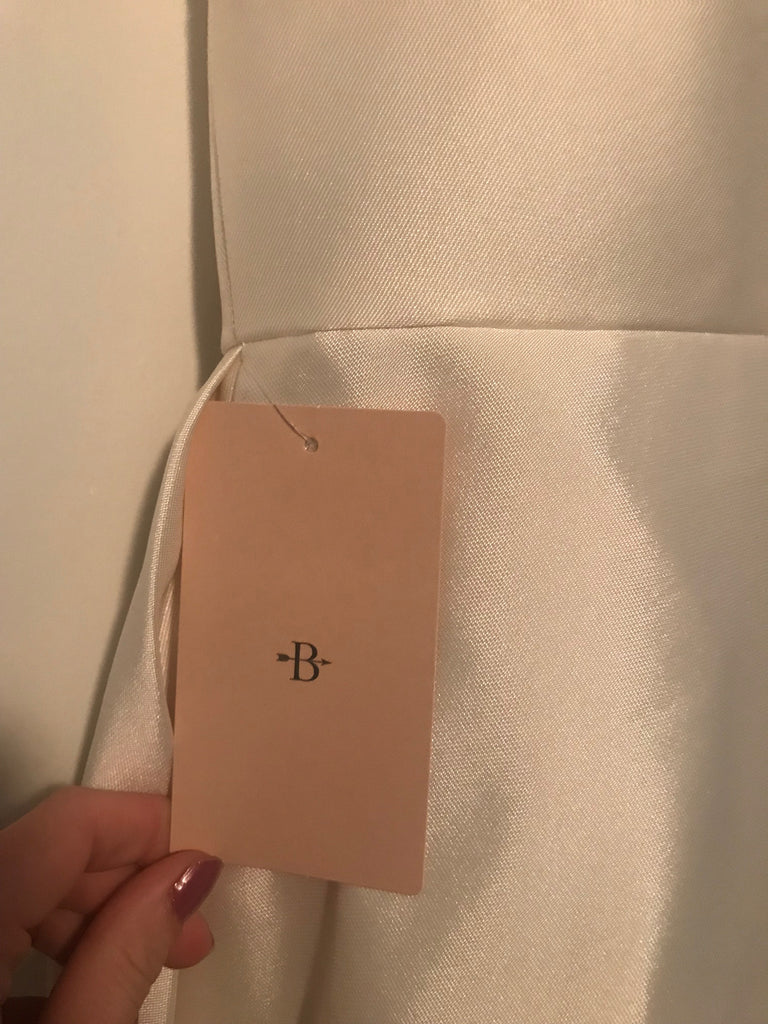 BHLDN 'Opaline' size 4 new wedding dress view of tag