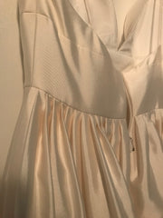 BHLDN 'Opaline' size 4 new wedding dress view of gathers