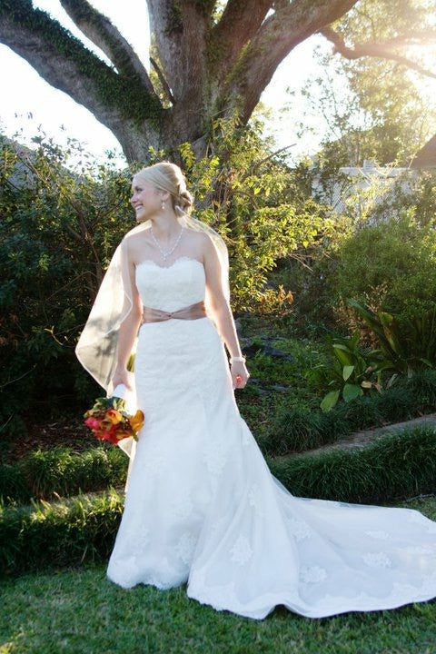 2Be Bride 'Strapless Silk' - 2Be Bride - Nearly Newlywed Bridal Boutique - 1