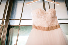 Reem Acra 'Coral Bells' - Reem Acra - Nearly Newlywed Bridal Boutique - 4