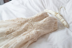 Alessandra Rinaudo 'Tanya' size 4 used wedding dress flat