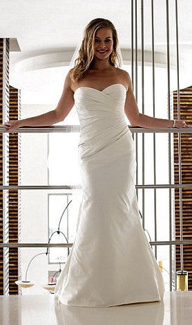 Rebecca Minkoff Inspired Custom Gown By Modern Trousseau - Modern Trousseau - Nearly Newlywed Bridal Boutique - 4
