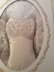 Melissa Sweet 'Marcus 20132 Ivory Silk Mikado' - Melissa Sweet - Nearly Newlywed Bridal Boutique - 7