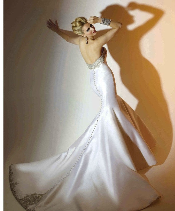 Victor Harper Couture 'Silk Mikado Strapless' - victor Harper Couture - Nearly Newlywed Bridal Boutique - 1
