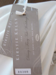 Kirstie Kelly 'Sleeping Beauty' size 8 new wedding dress view of tags