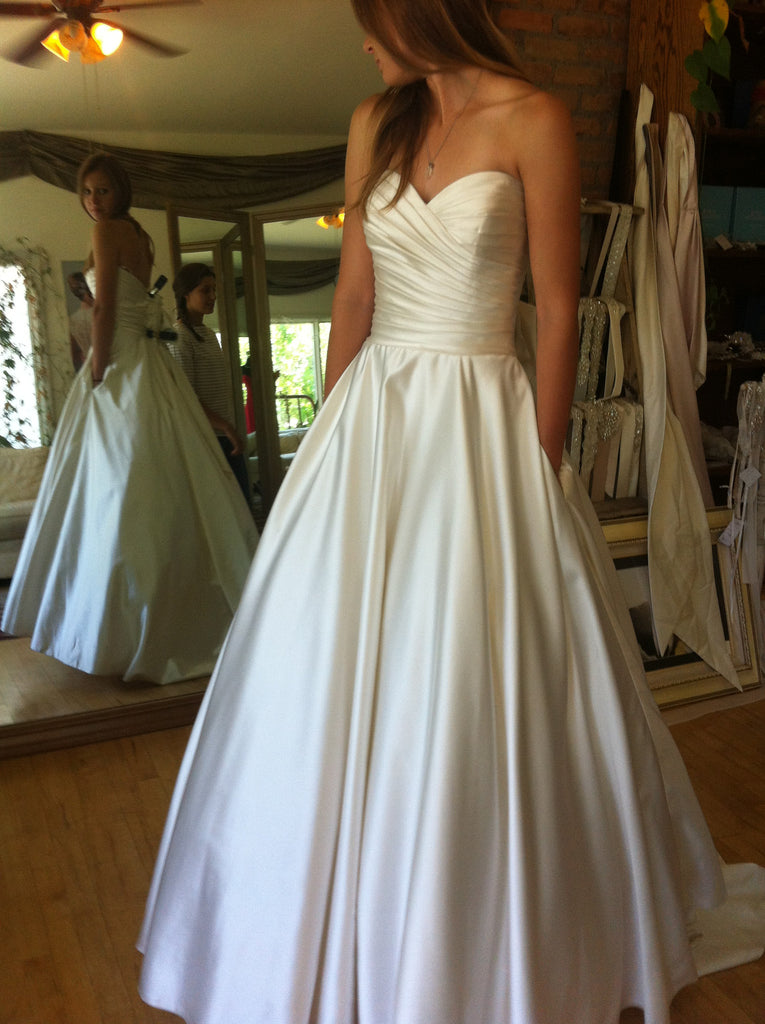 Allure Bridals '8919' - Allure Bridals - Nearly Newlywed Bridal Boutique - 1