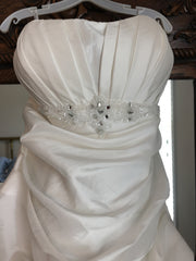 Impression Bridal 'Destiny' size 12 new wedding dress front view close up