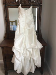 Impression Bridal 'Destiny' size 12 new wedding dress back view on hanger