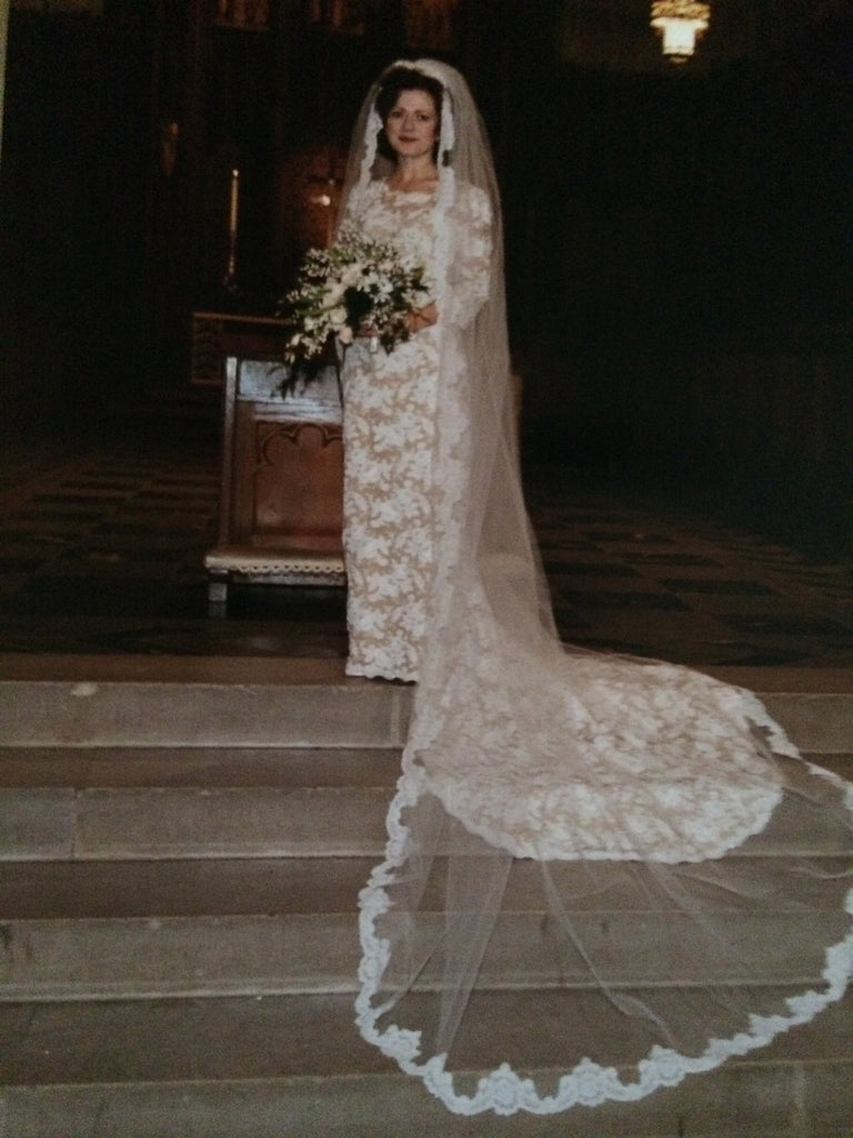 Custom 'Georgette of Boston' - Custom made - Nearly Newlywed Bridal Boutique - 1
