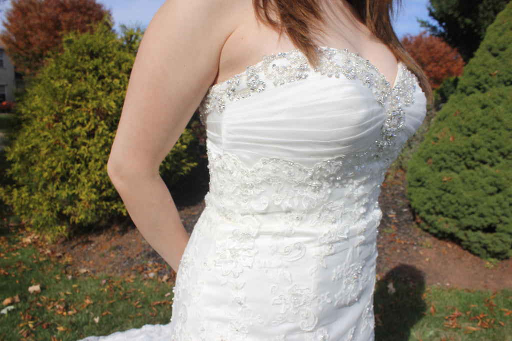 David's Bridal 'LV64' - David's Bridal - Nearly Newlywed Bridal Boutique - 2