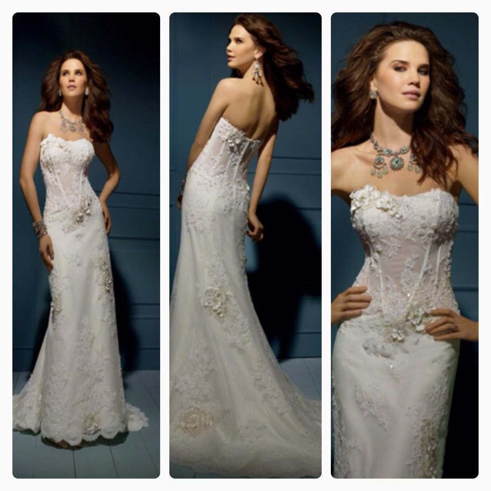 Alfred Angelo 'Sapphire' - alfred angelo - Nearly Newlywed Bridal Boutique - 1