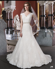 Justin Alexander '8703' - JUSTIN ALEXANDER - Nearly Newlywed Bridal Boutique - 1