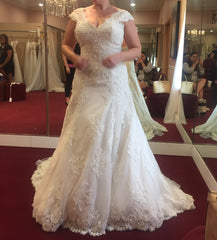 Justin Alexander '8703' - JUSTIN ALEXANDER - Nearly Newlywed Bridal Boutique - 3