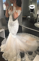 Michal Medina 'Mia' size 6 used wedding dress front view on bride