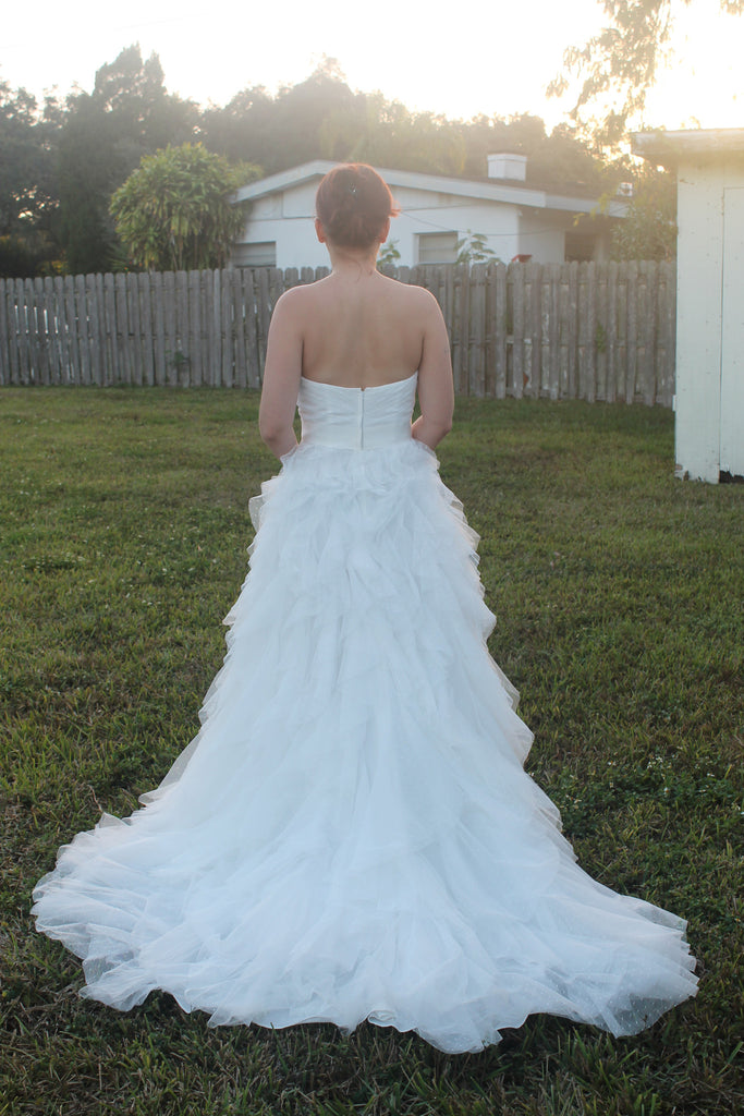 David's Bridal 'Galina' - David's Bridal - Nearly Newlywed Bridal Boutique - 2