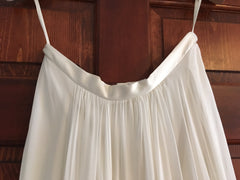 Catherine Deane 'Skirt' size 6 new wedding dress view of waistband