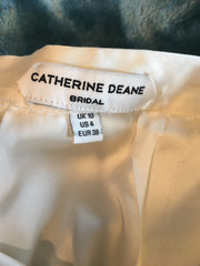 Catherine Deane 'Skirt' size 6 new wedding dress view of tag