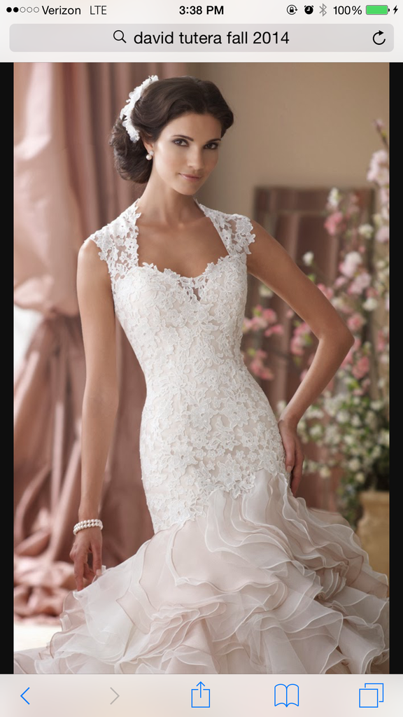 David Tutera for Mon Cheri '114276' - david tutera for mon cheri - Nearly Newlywed Bridal Boutique - 2