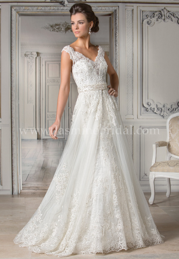 Jasmine Couture 'Nanette Gray' - Jasmine Couture Bridal - Nearly Newlywed Bridal Boutique - 4